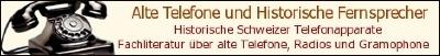 Historische schweizer Telefonapparate